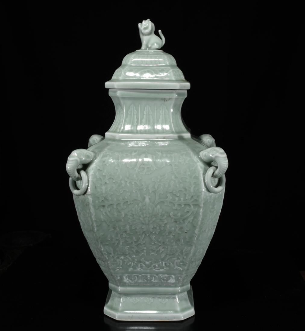 Chinese Dong Qing Porcelain Vase - 2