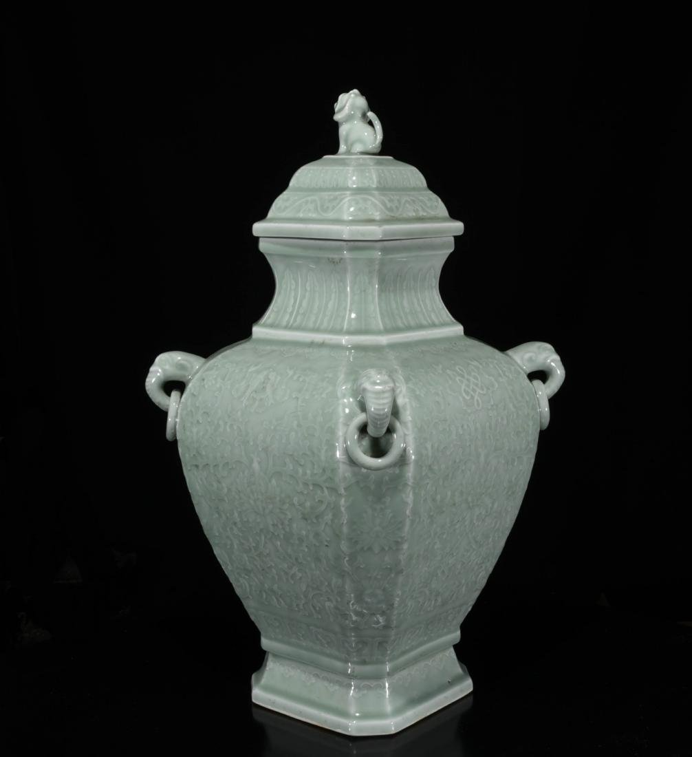 Chinese Dong Qing Porcelain Vase - 3