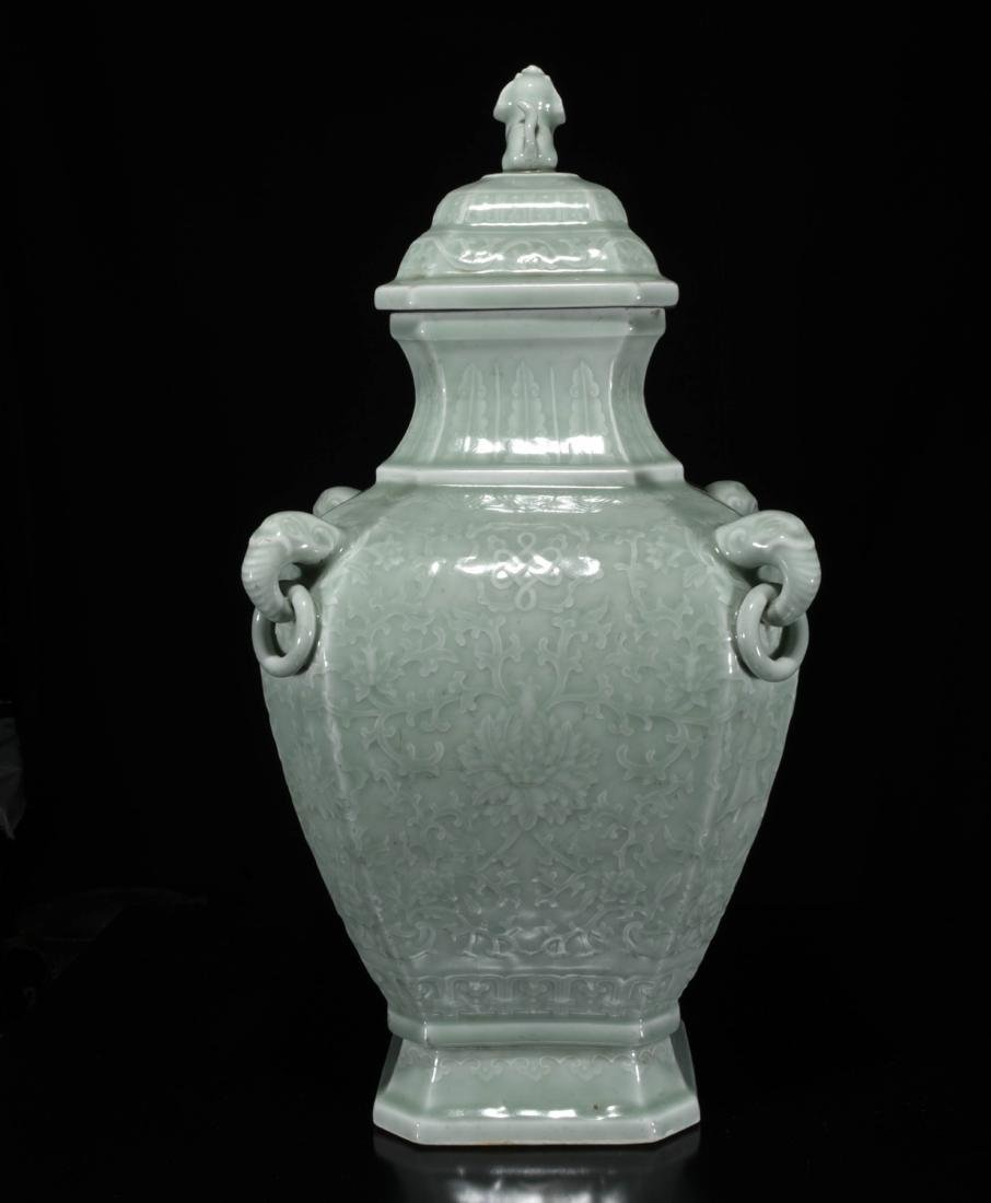 Chinese Dong Qing Porcelain Vase - 4