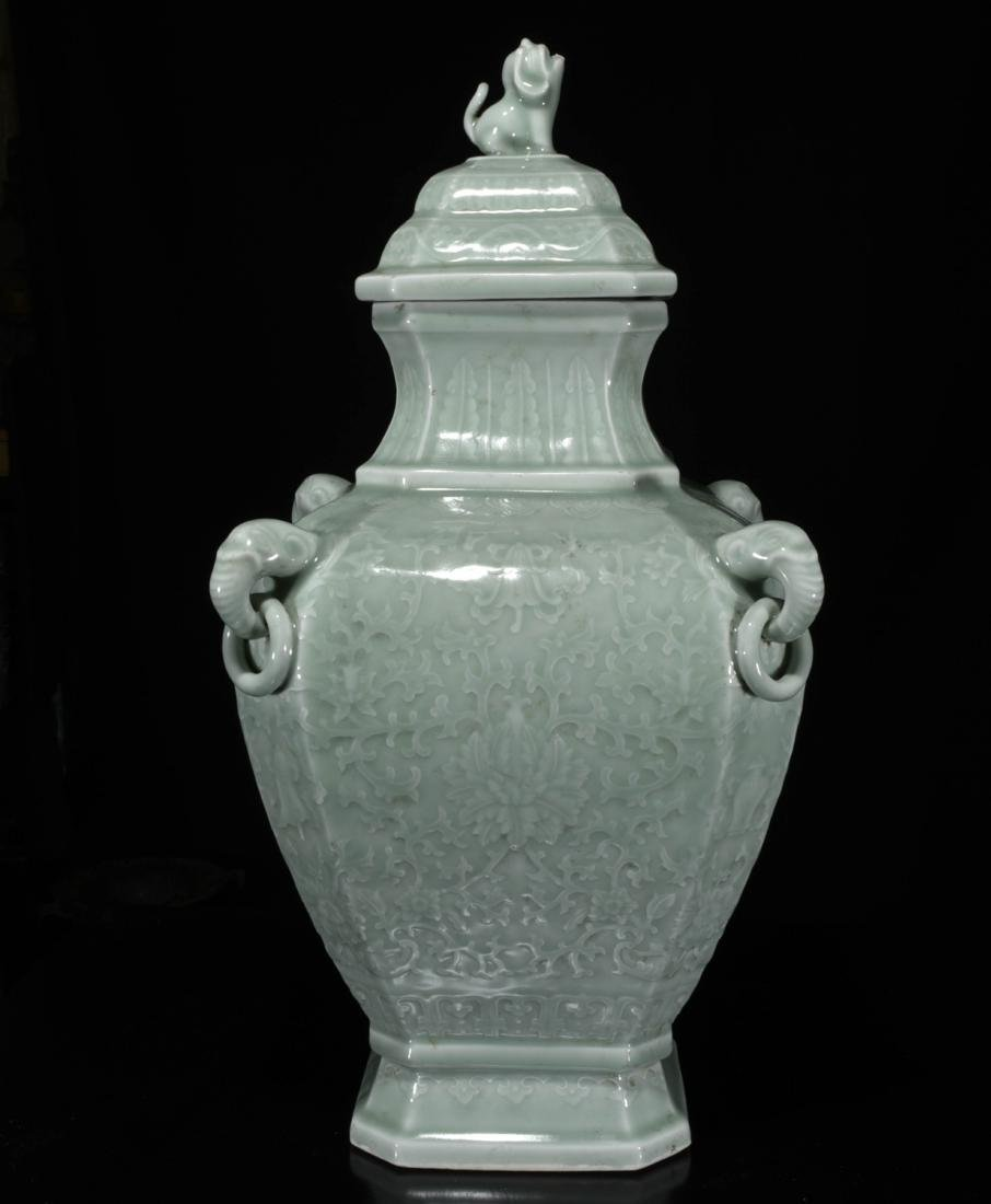 Chinese Dong Qing Porcelain Vase - 5