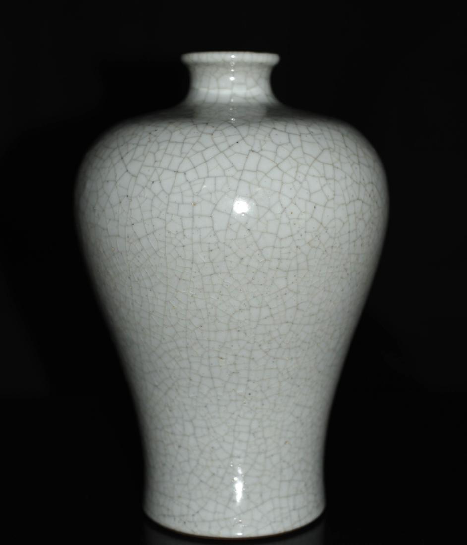 Chinese Ge Ware Porcelain Floral Vase