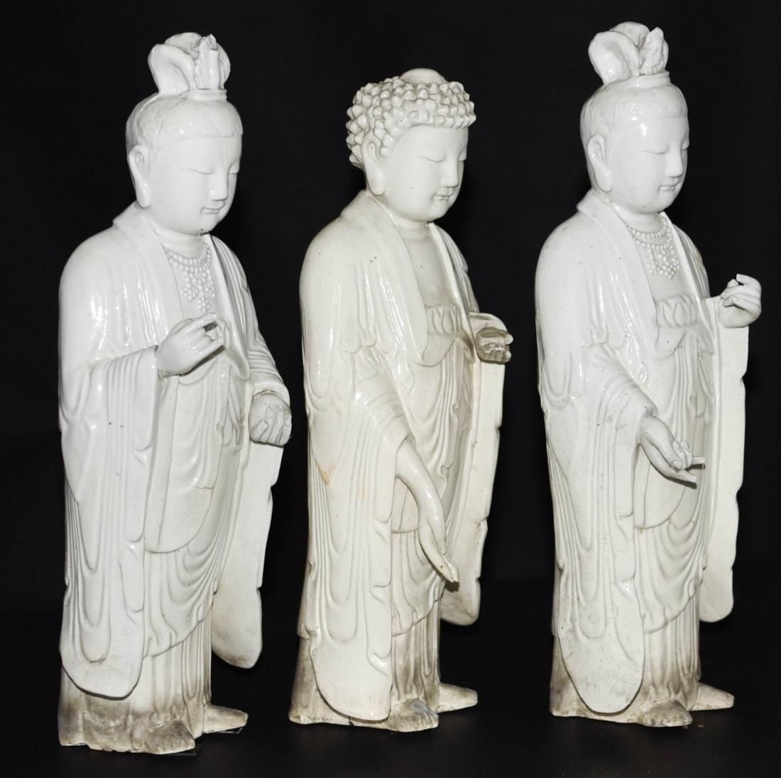 Chinese Porcelain Buddha - 3