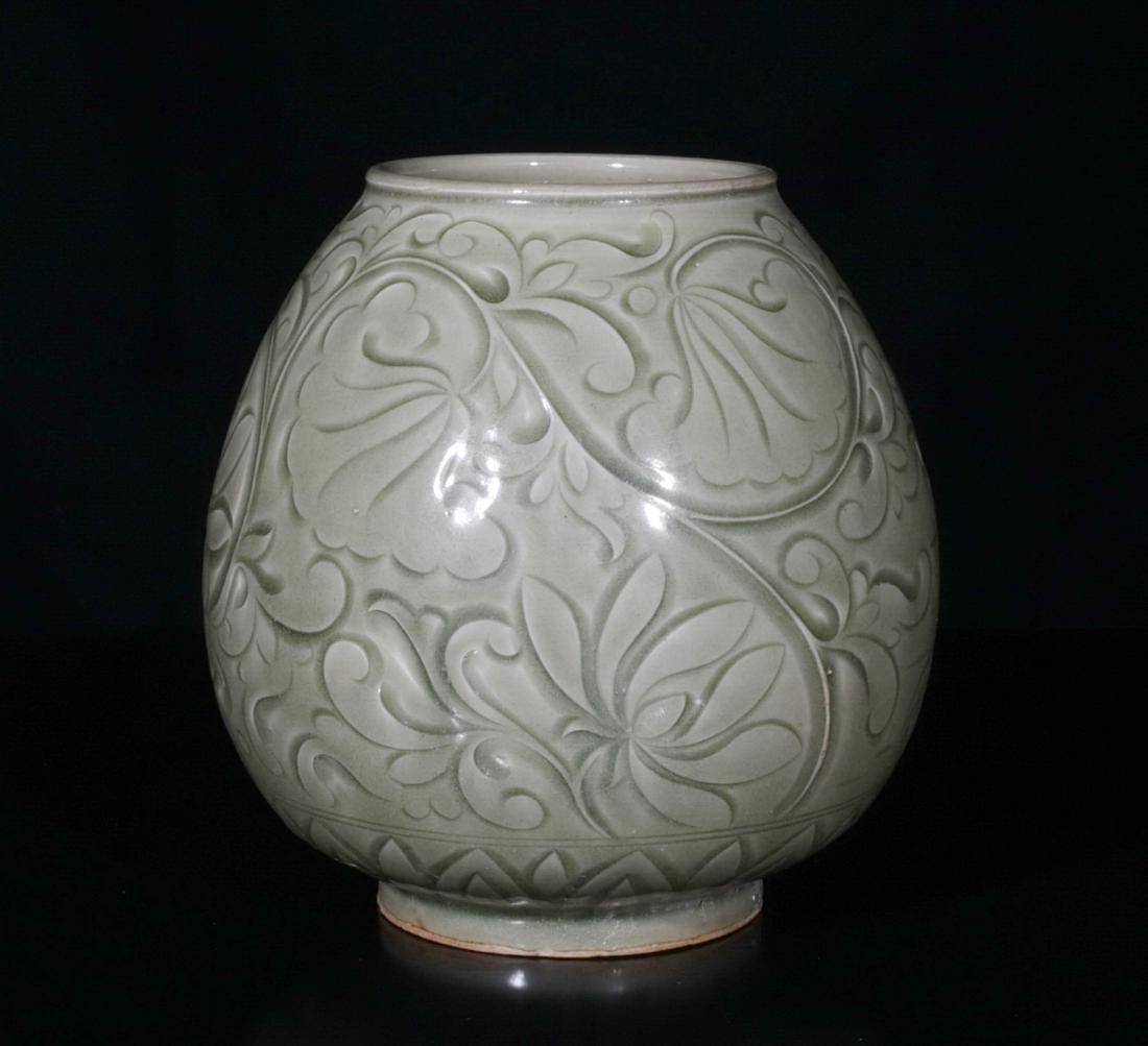 Chinese Yao Zhou Porcelain Jar - 3