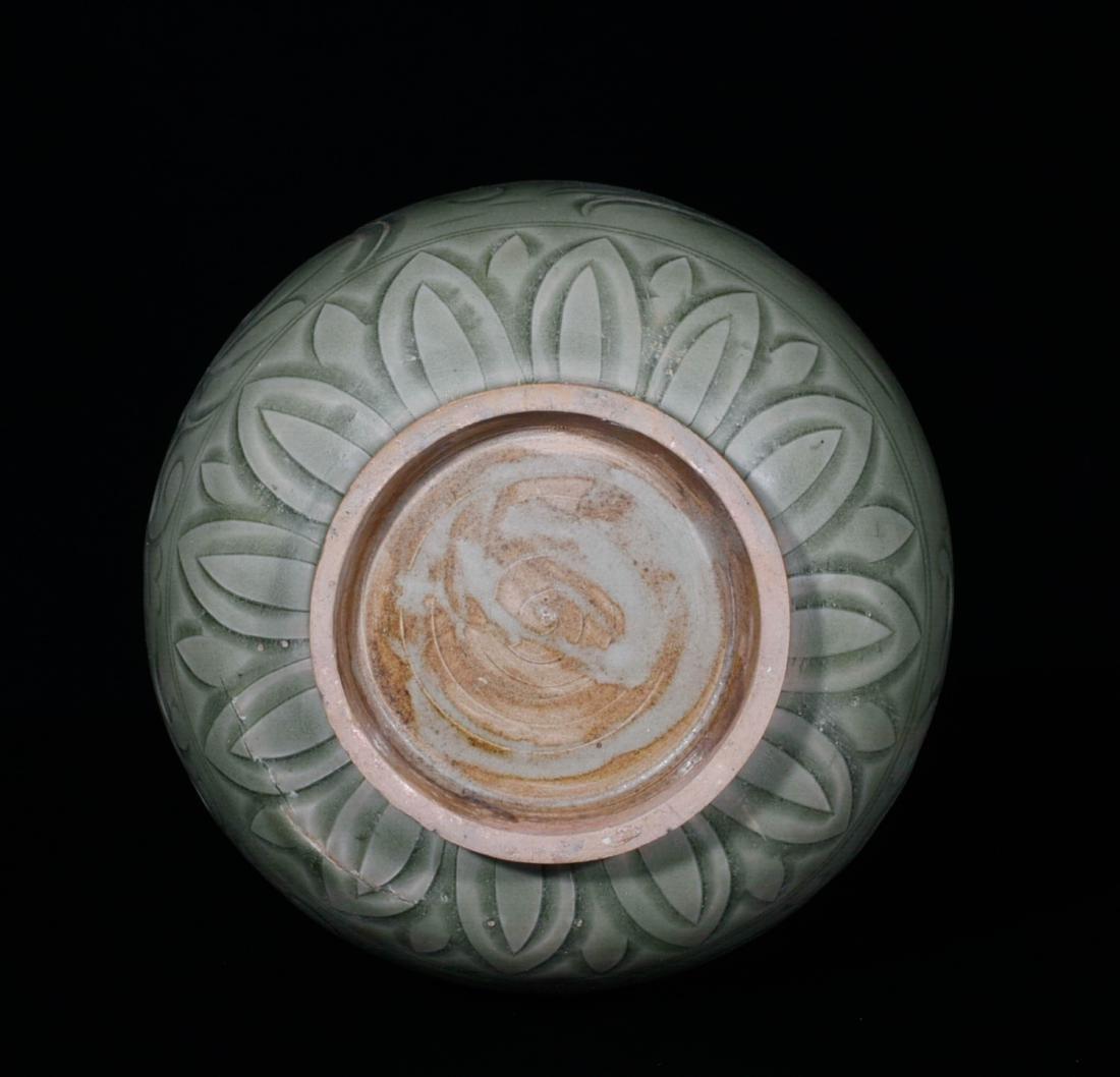 Chinese Yao Zhou Porcelain Jar - 4