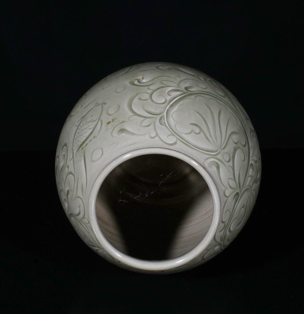 Chinese Yao Zhou Porcelain Jar - 5