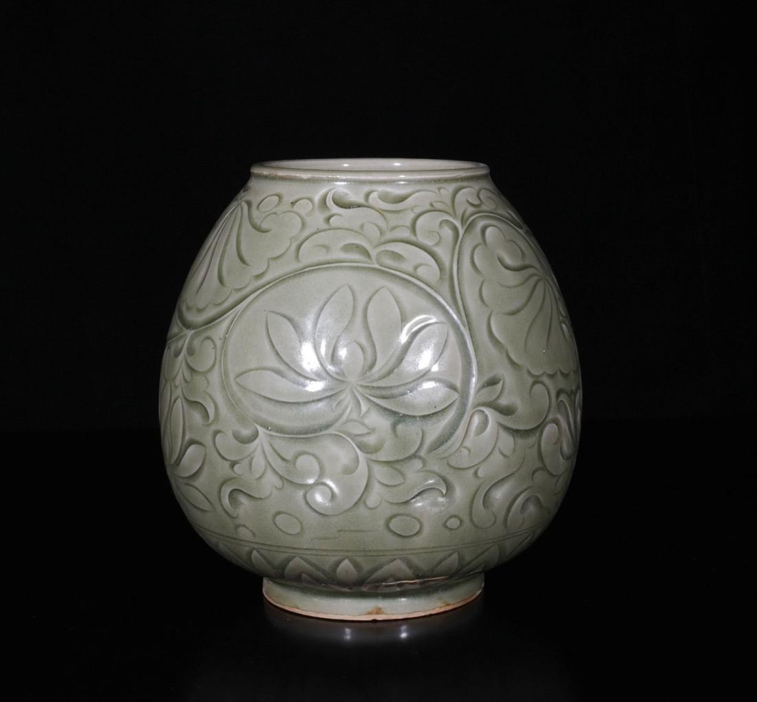 Chinese Yao Zhou Porcelain Jar - 6
