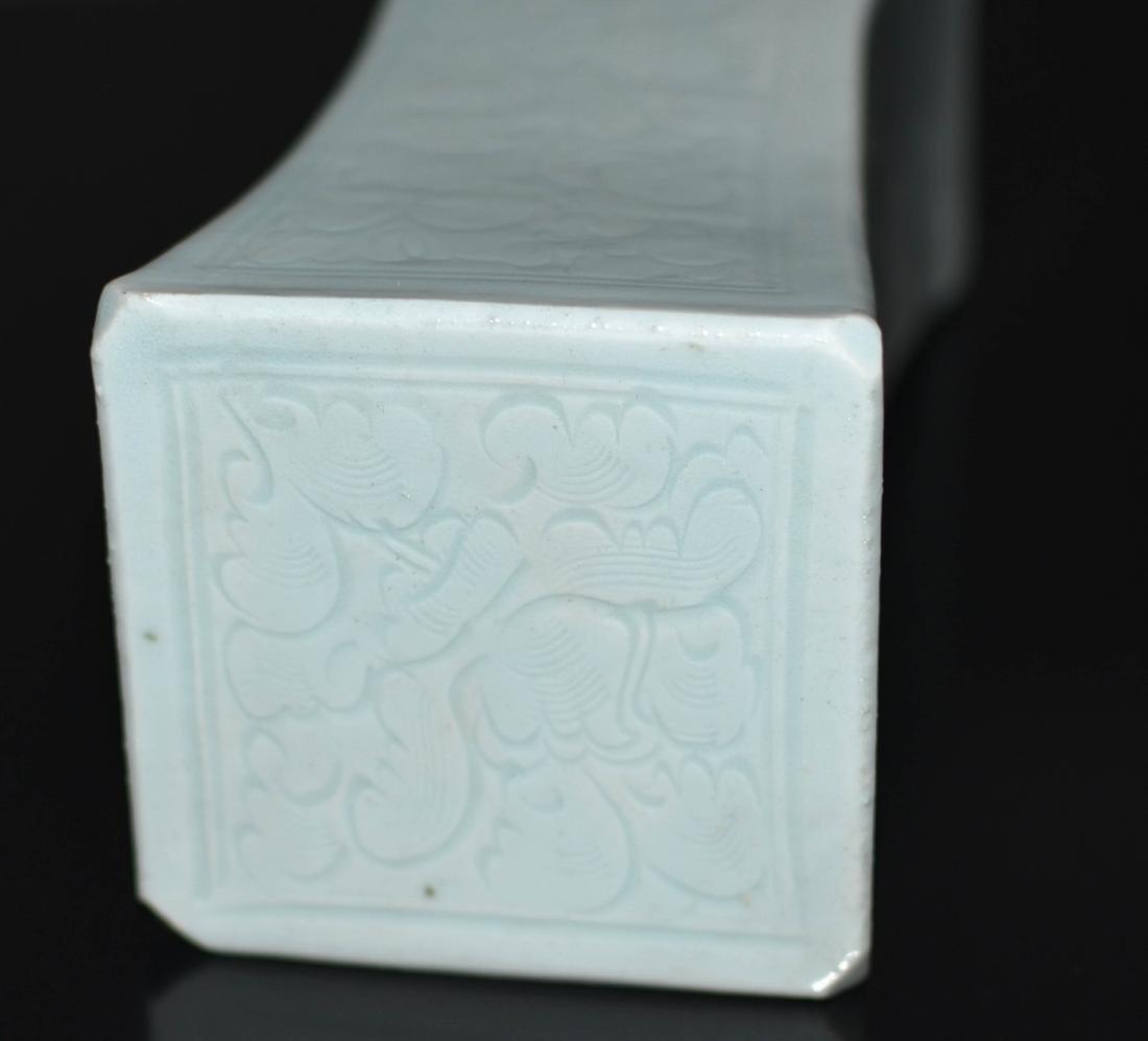 Chinese Ying Qing Porcelain Pillow - 3