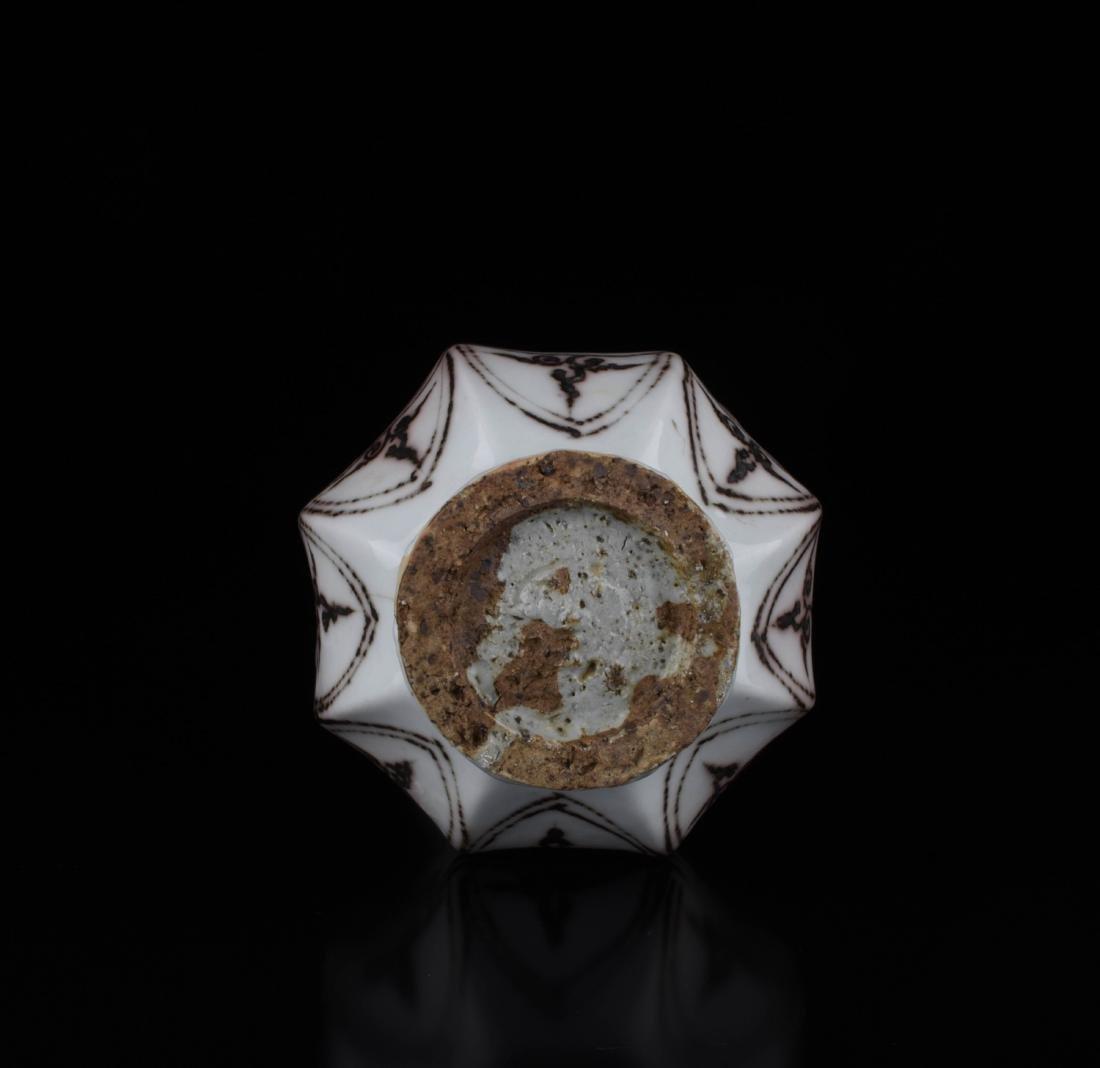 Chinese Copper Red Glaze Porcelain Vase - 4