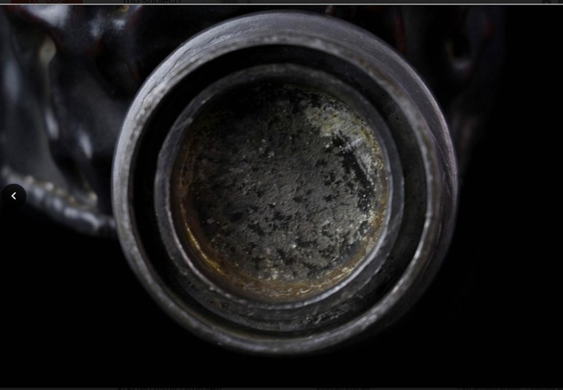 Qing Dynasty Zi Tan Petwer Tea Jar - 4