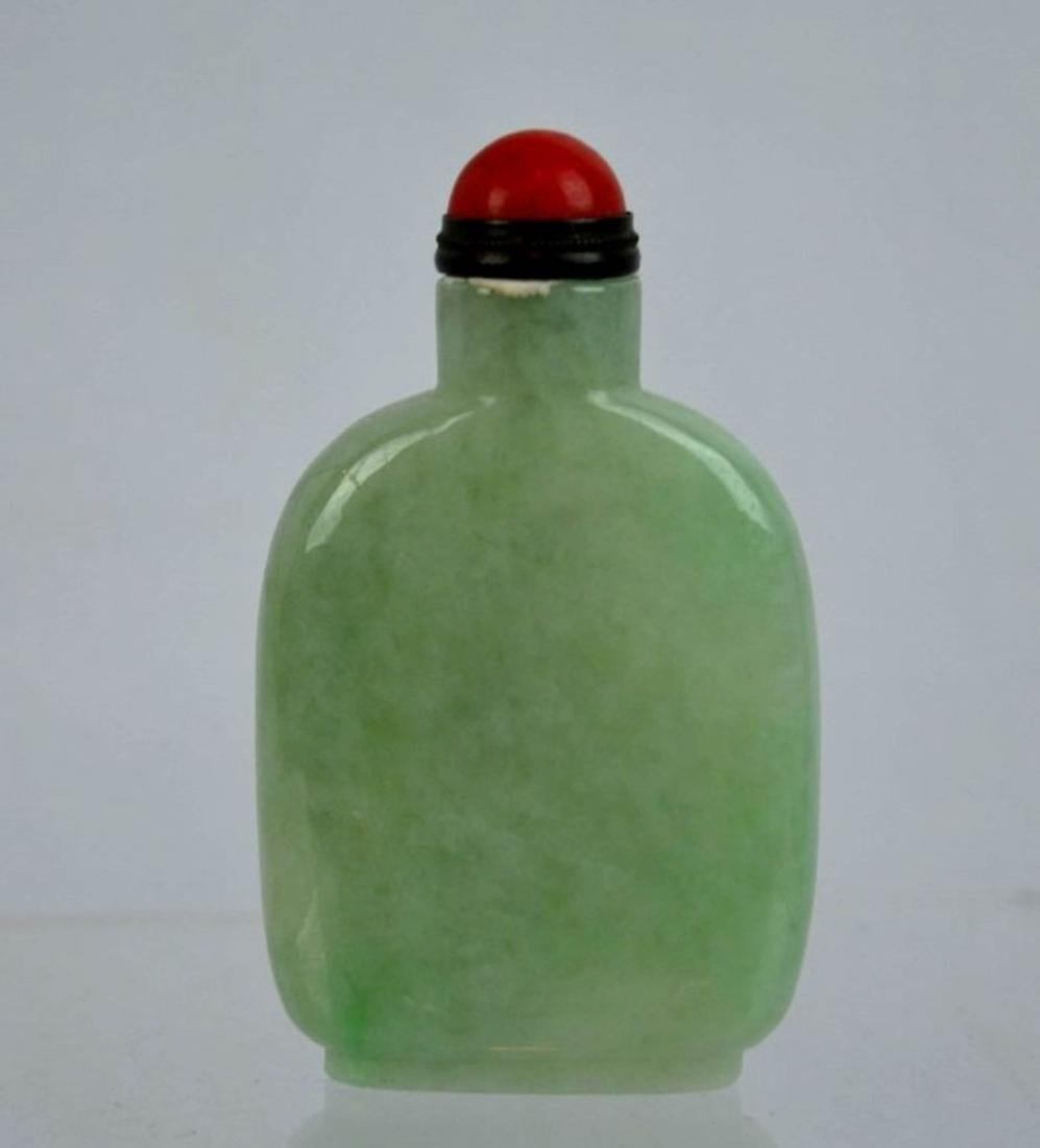 Qing Dynasty Jadeite Snuff Bottle - 2
