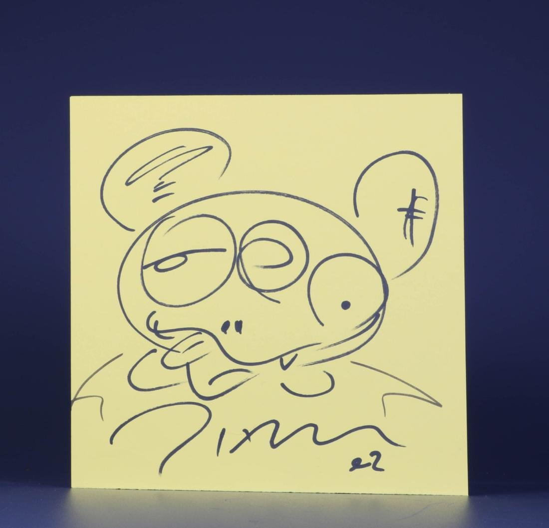 Takashi Murakami Drawing on Paper