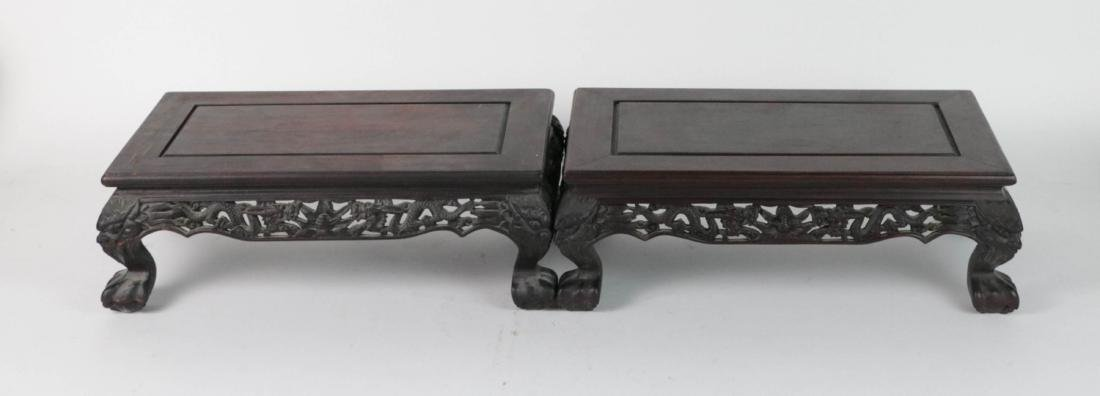 Pair Chinese Bonsai Stand