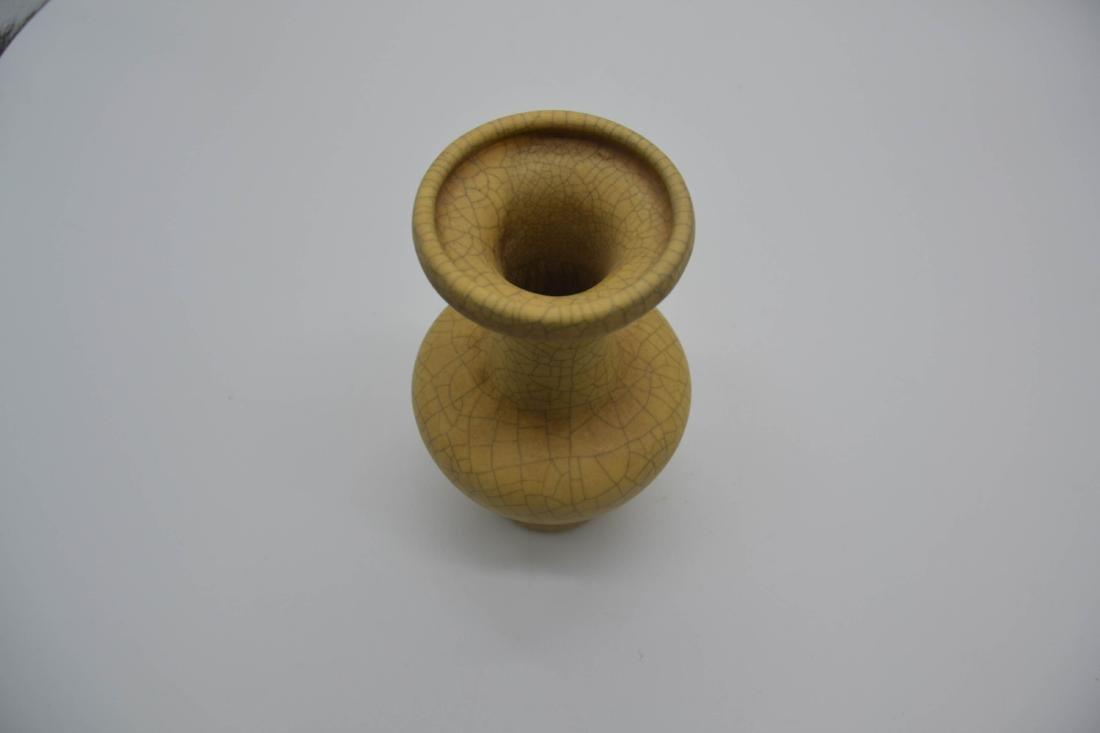 Chinese Ge Ware Porcelain Vase - 4