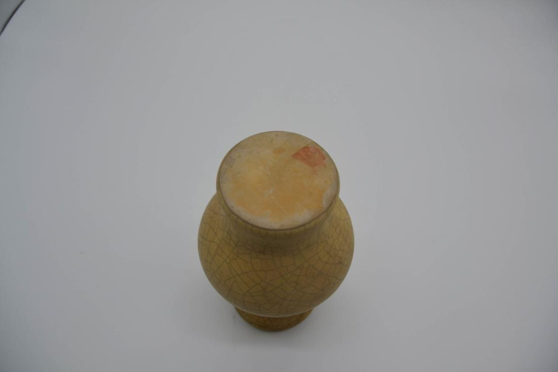 Chinese Ge Ware Porcelain Vase - 5