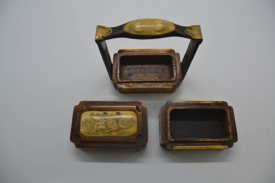 Chinese Huang Hua Li Lunch Box - 4