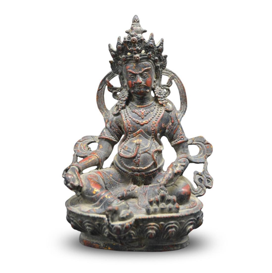 Chinese Gold Plated Buddha