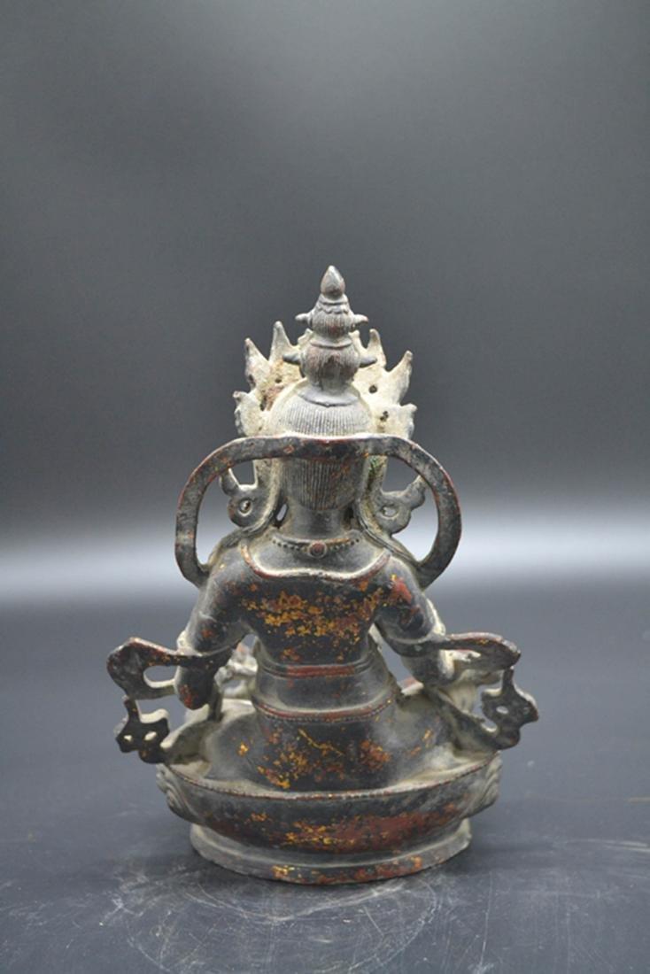 Chinese Gold Plated Buddha - 2