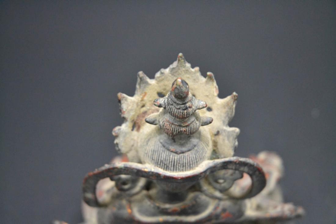 Chinese Gold Plated Buddha - 3