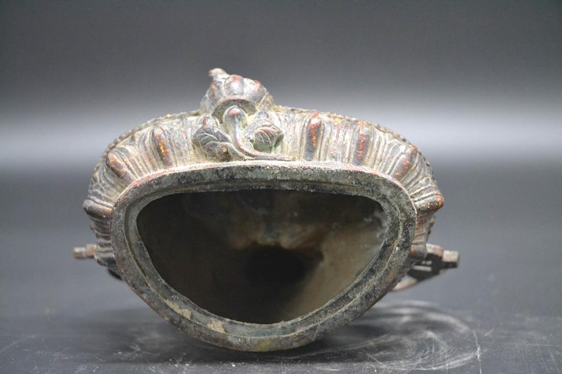 Chinese Gold Plated Buddha - 4