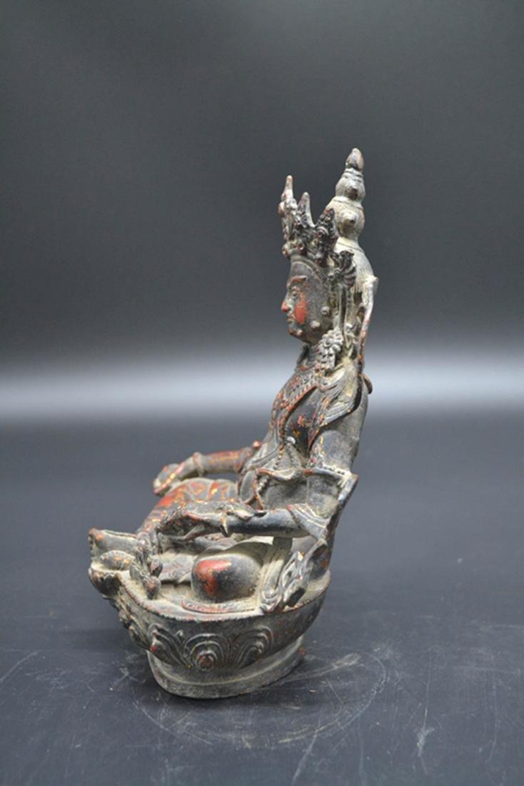 Chinese Gold Plated Buddha - 5