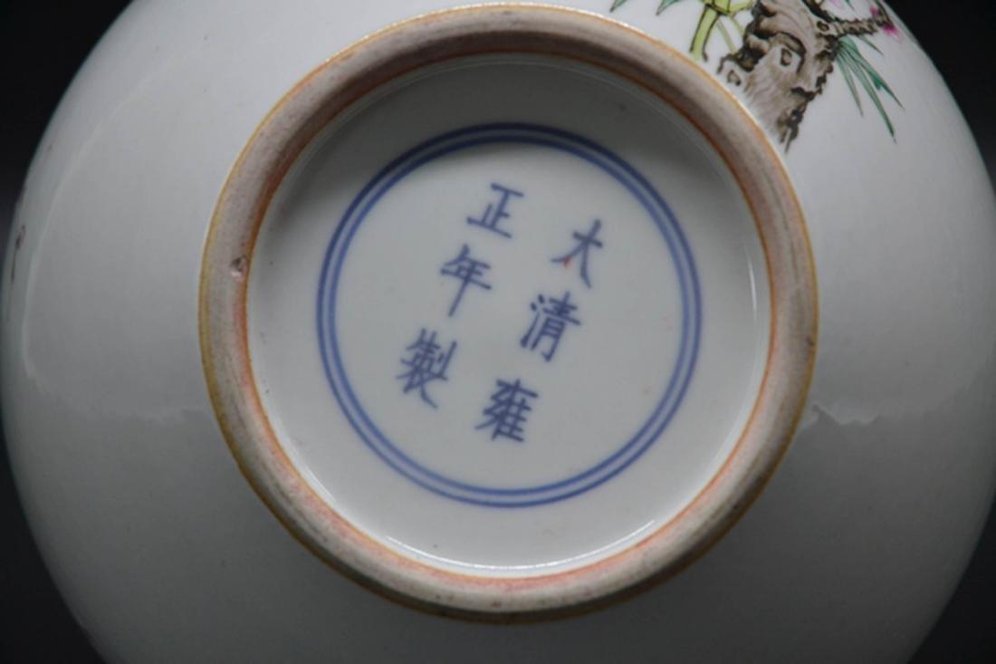 Chinese Enamel Porcelain Vase - 4