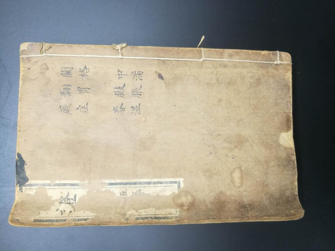 Chinese ''Bian Zheng Lu'' Book - 8