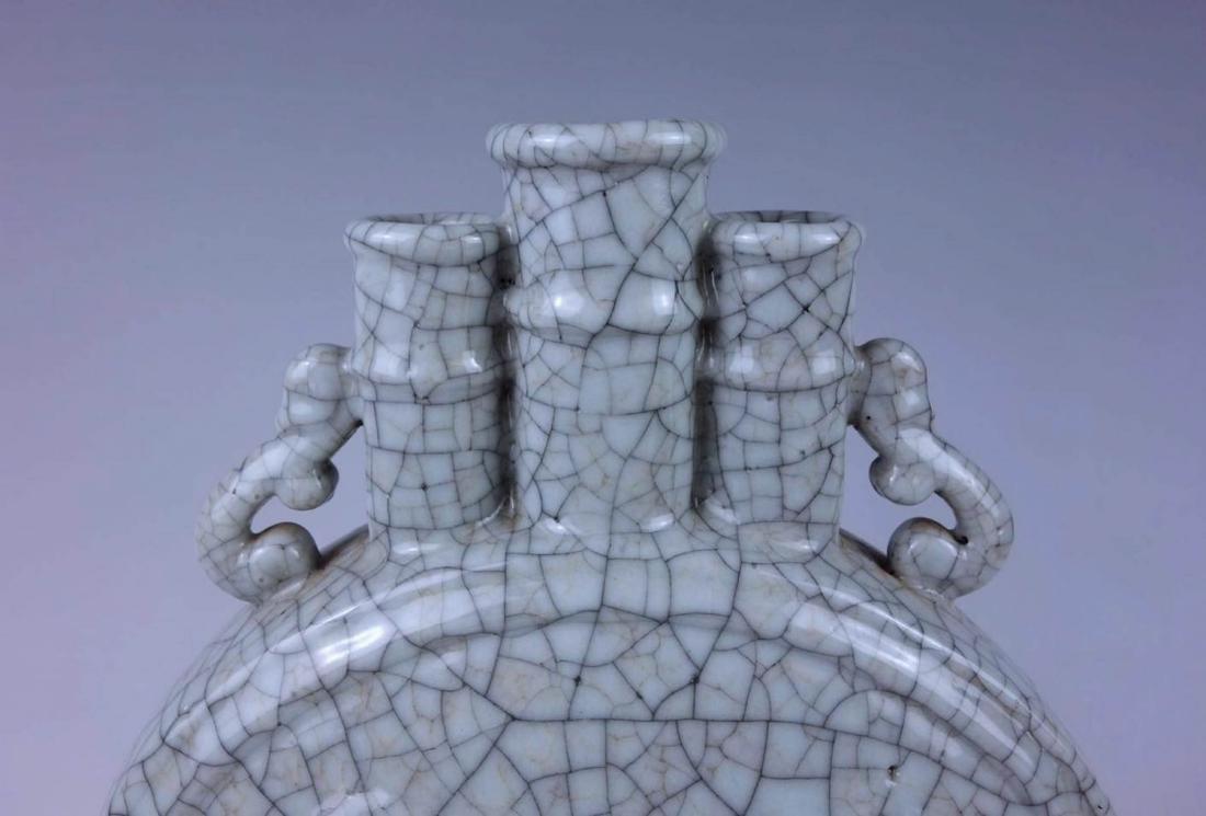 Chinese Ge Glaze porcelain Vase - 2