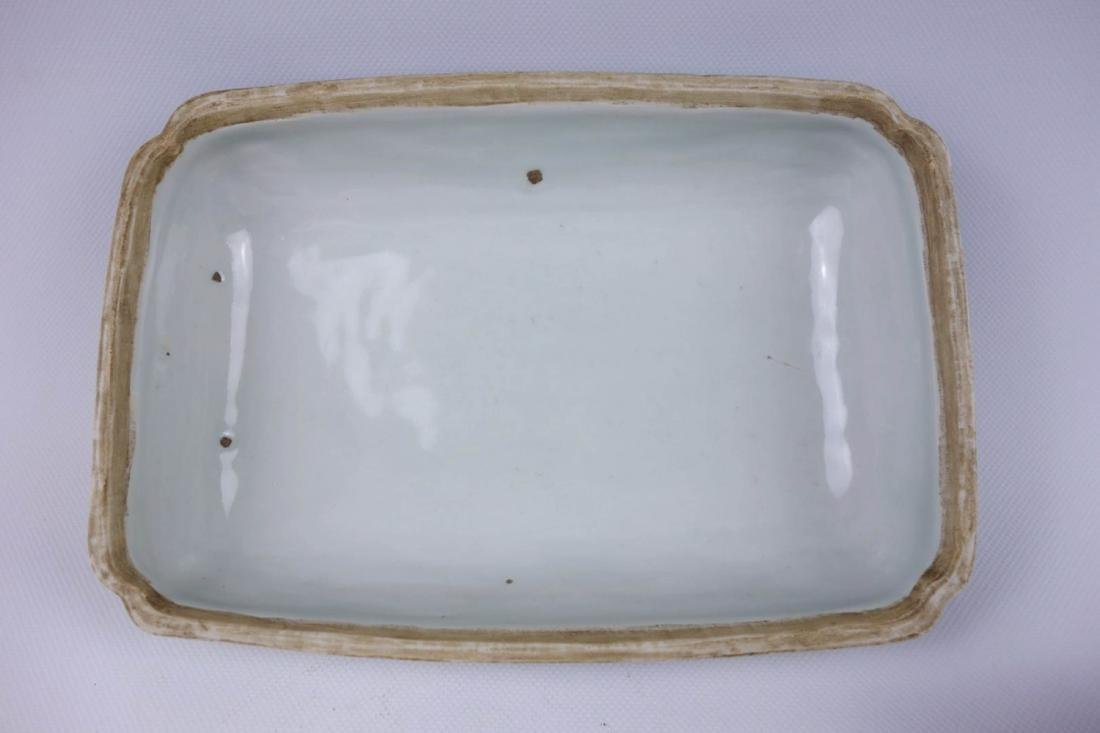 Chinese Blue And White Porcelain Box - 4