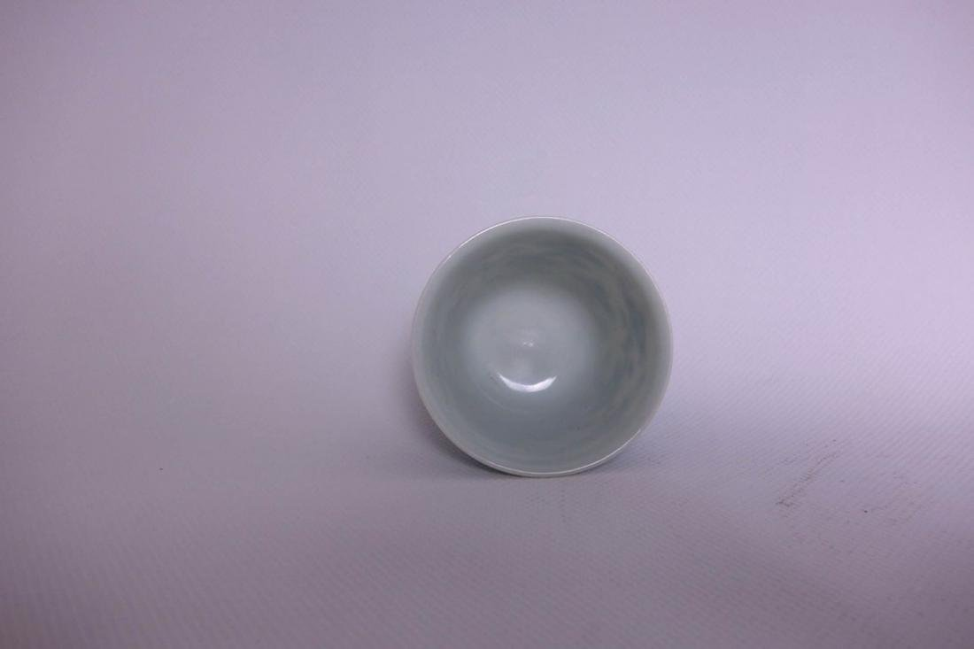 Pair Of Chinese Blue And White Porcelain Vase - 2