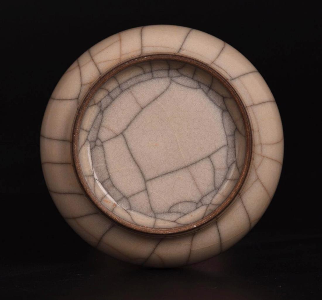 Chinese Ge Glaze Porcelain Vase - 5