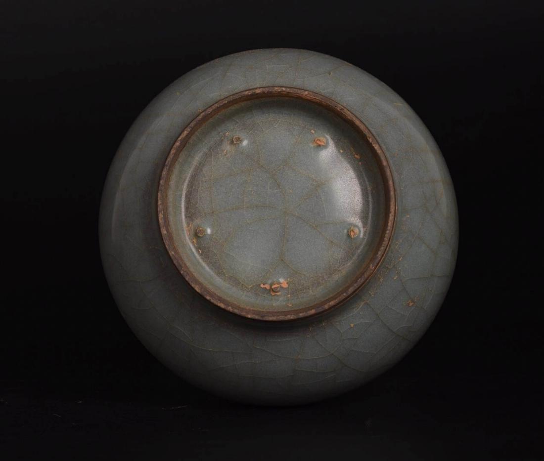 Chinese Ge Ware Porcelain Vase - 8
