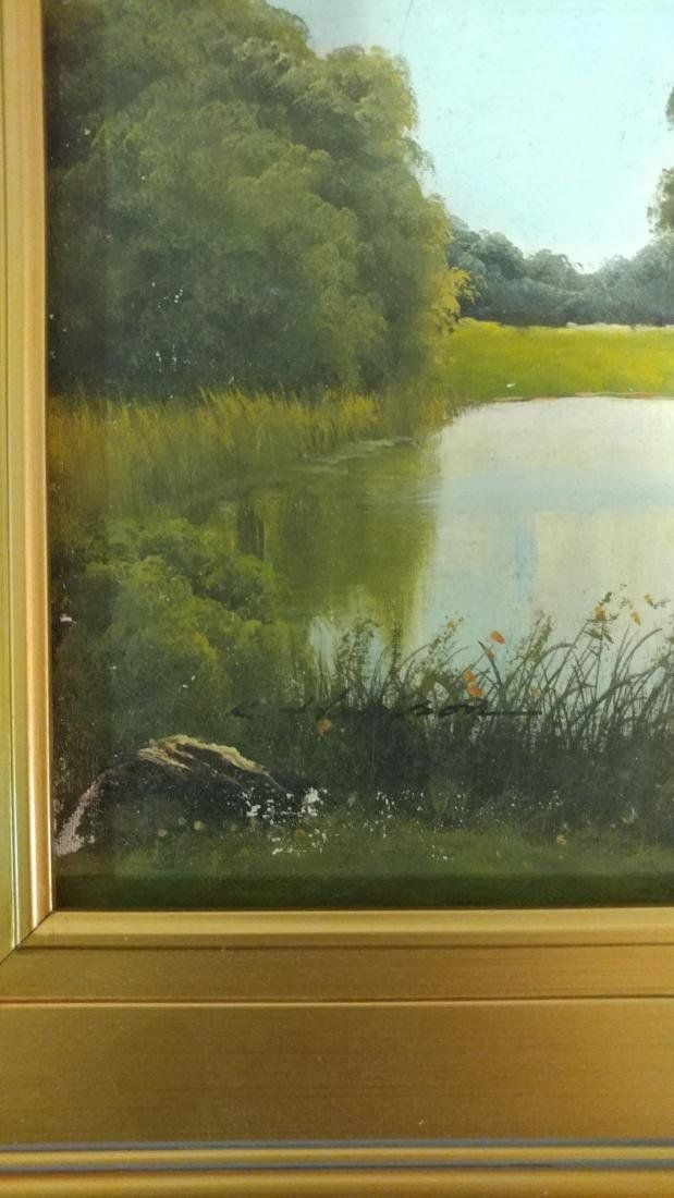 Oil on Canvas Signed and Framed. - 2