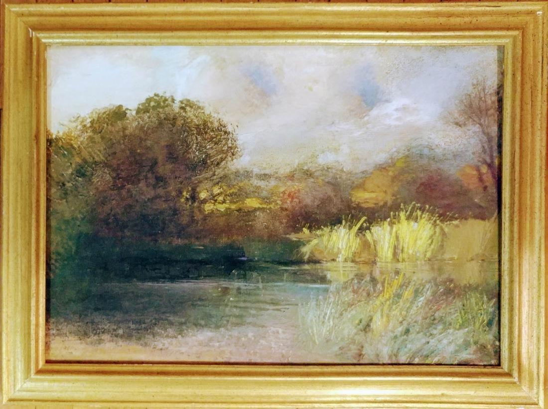 Lanscape oil on canvas
