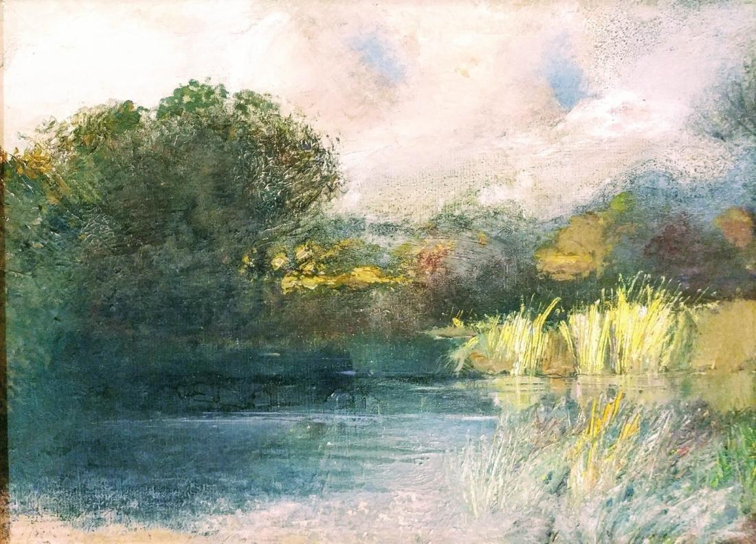 Lanscape oil on canvas - 2