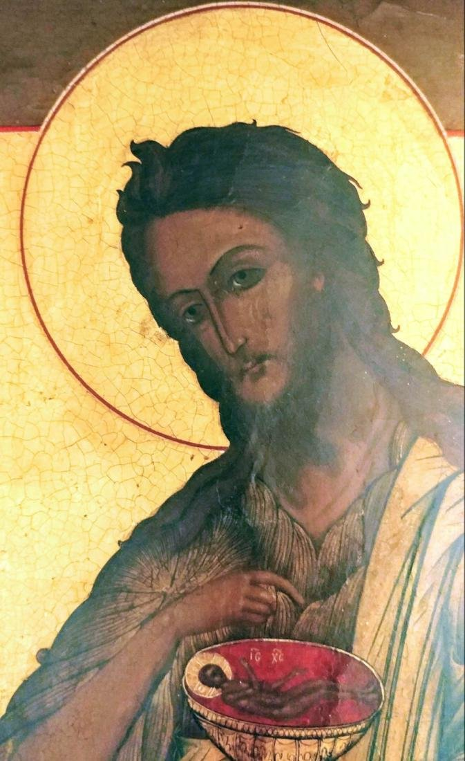 Russian icon of the John the Baptist. - 2
