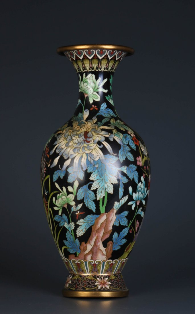 Chinese Cloisonne Vase