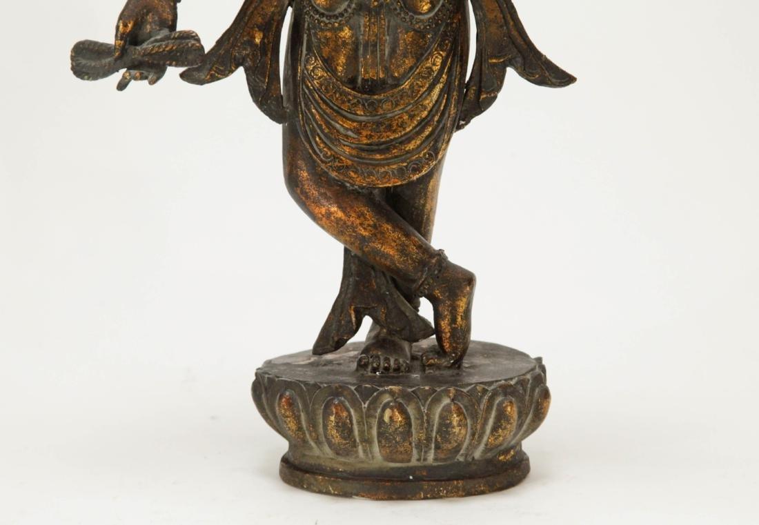 Tibetan Bronze Multiple Heads Buddha - 5