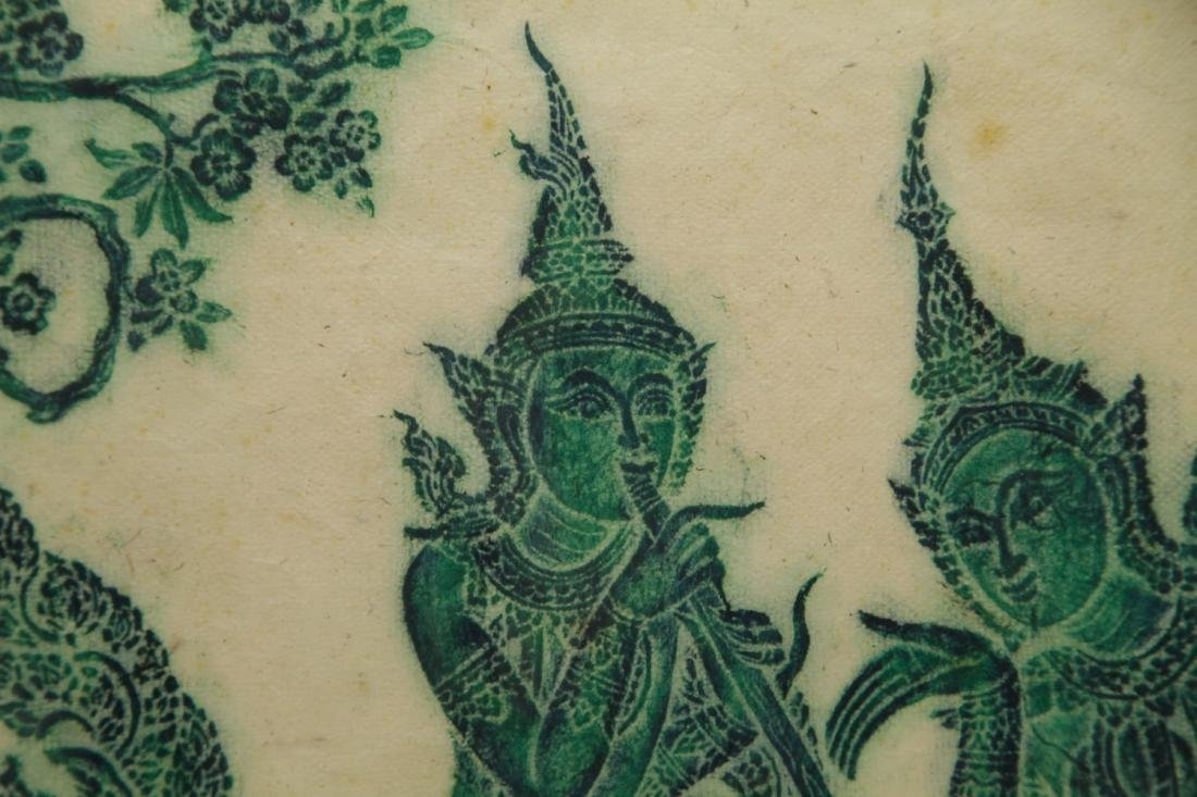 Indian Painting w/ Two Mythical Figures - 6