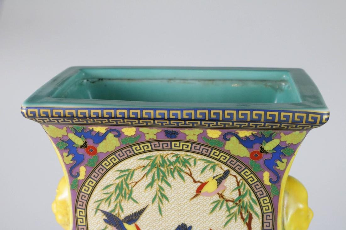 Chinese porcelain vase with marked - 5