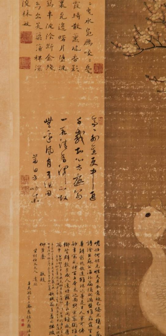 Chinese Lv Ji Painting of Swan - 8