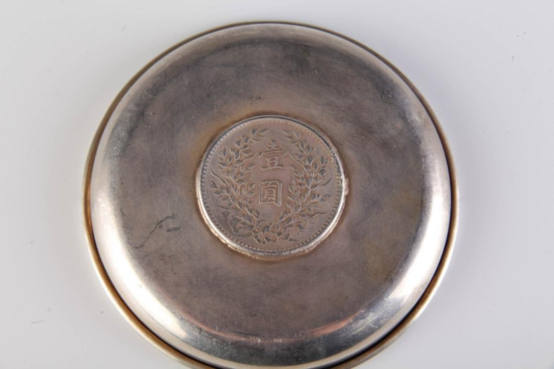 Chinese Republic Metal Ash Tray - 5