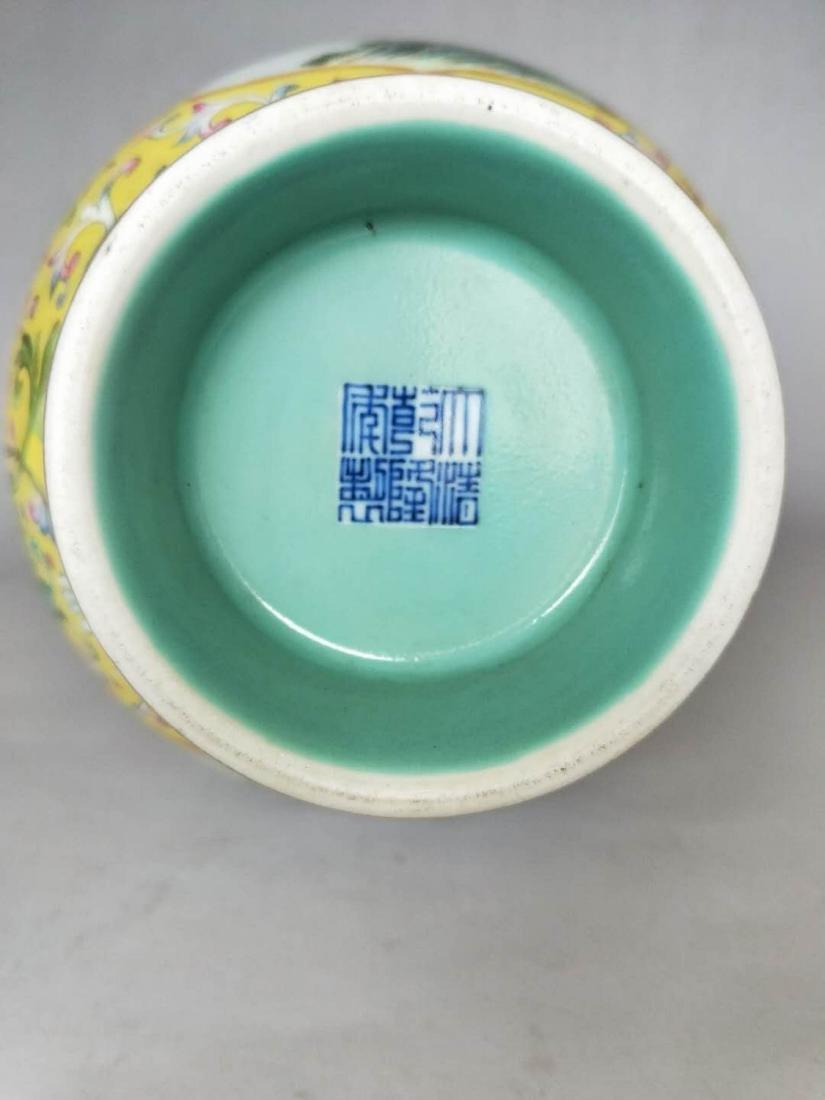 Chinese Famille Rose Gourd Vase - 4