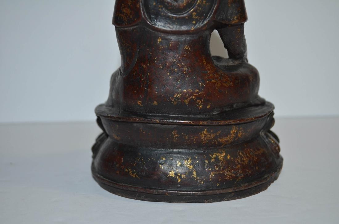 Chinese Bronze Buddha - 10