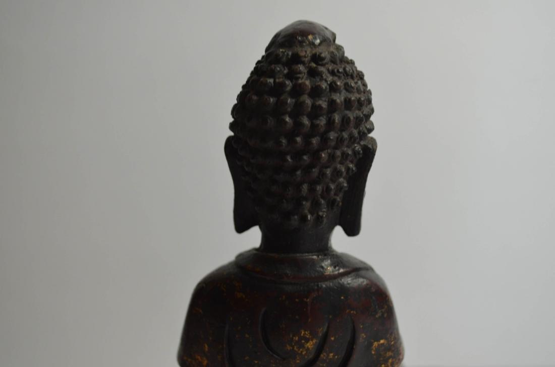Chinese Bronze Buddha - 8