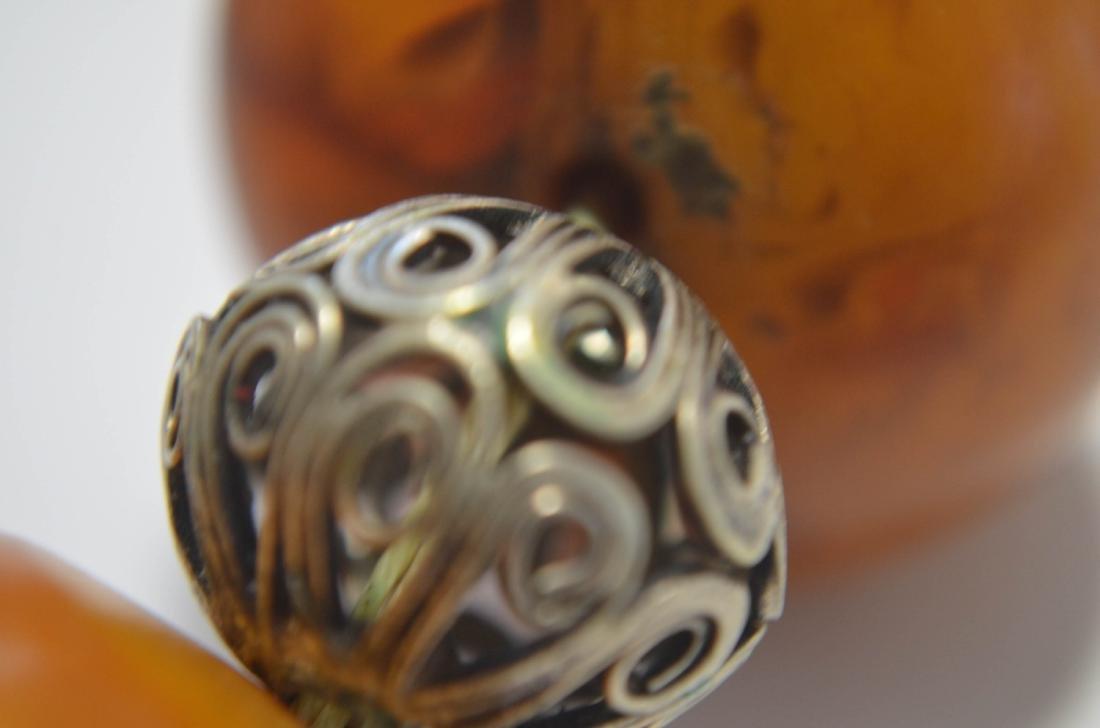 Butter Scotch Amber Bracelet - 7
