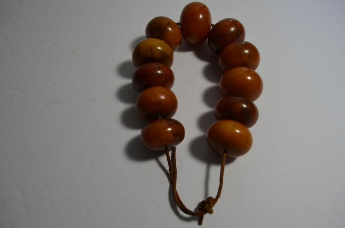 Butter Scotch Amber Bracelet