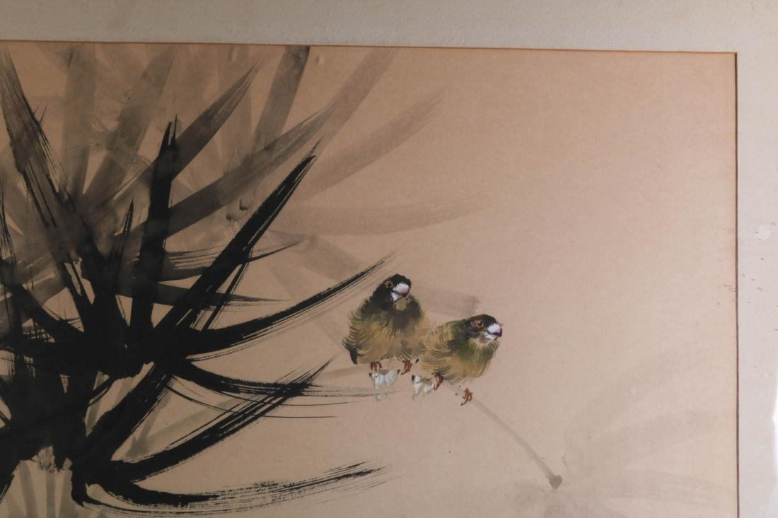 Chinese Watercolor Painting of Birds - 5