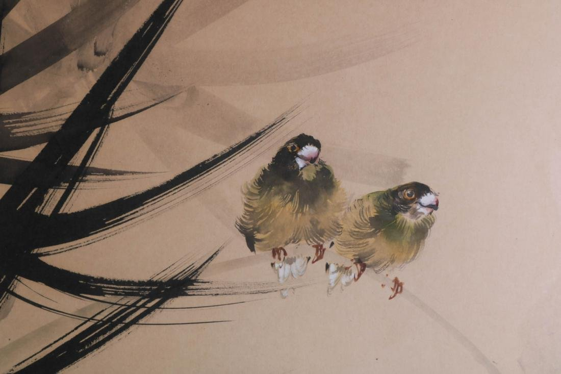 Chinese Watercolor Painting of Birds - 7