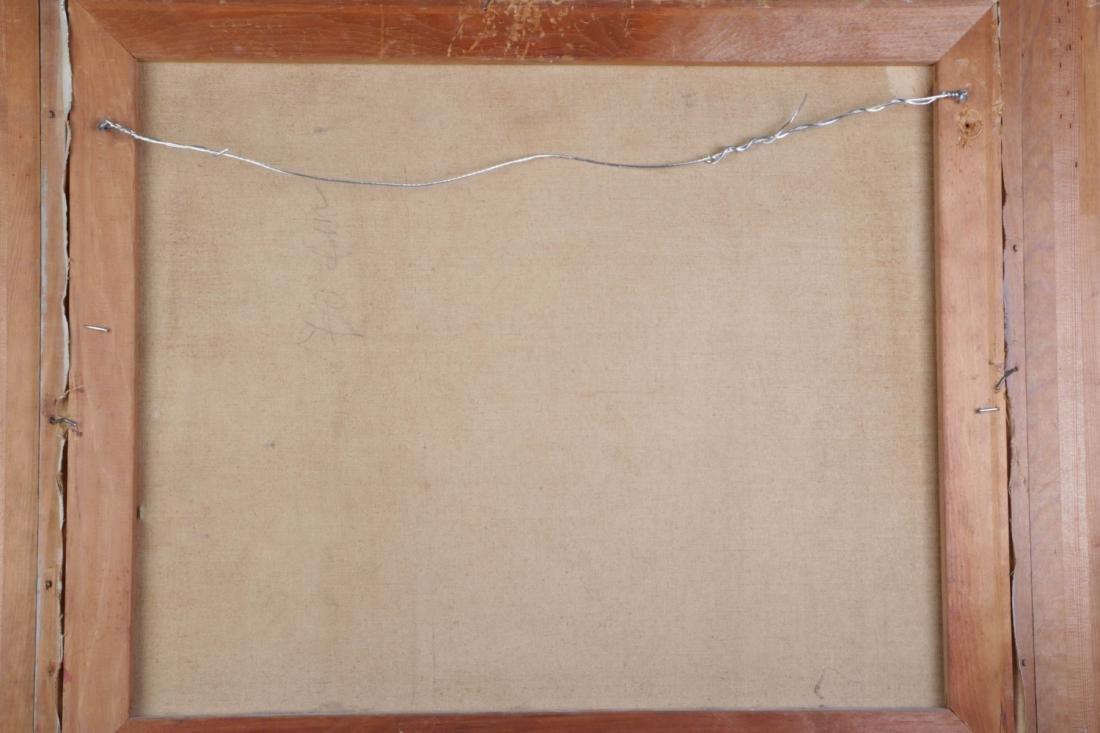 Oil on Canvas of Yonkippur Prayer - 6