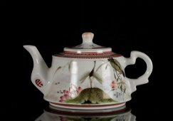 wd Chinese Republican Teapot w/ Mark